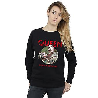 Queen Women's News Of The World Sweatshirt