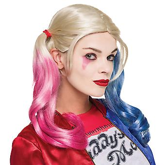 Harley Quinn Suicide Squad Super Bösewicht DC Comics Frauen Kostüm Make-up-Set