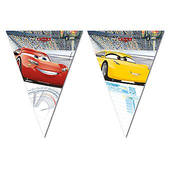 Pennant Garland de Coquette cars 3 kids party birthday