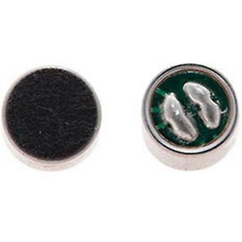 EMY 62N4 EMY-62N4 Electret mikrofon kapsel drift spænding: 1,5-12 Vdc frekvensområde: 18-20 000 Hz