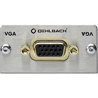 VGA-Multimedia inset + fanout kabel Oehlbach PRO i MMT-C VGA