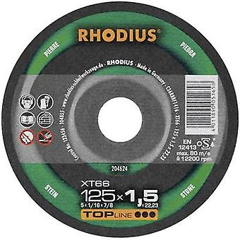 Cutting disc (straight) 180 mm 22.23 mm Rhodius XT 66 204623 1 pc(s)