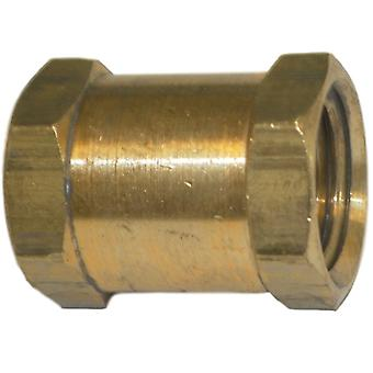Big A Service Line 3-20320 Brass Fitting, Hose Coupling 1/8