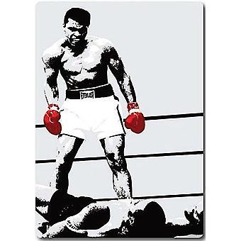 Muhammad Ali kjøleskap Magnet