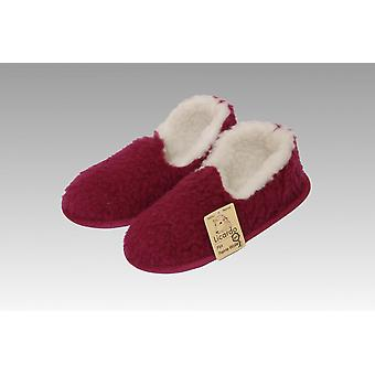 Moccasin wool bordeaux 40/41