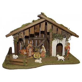 Crib CANAAN wooden Manger Nativity Christmas Nativity stable