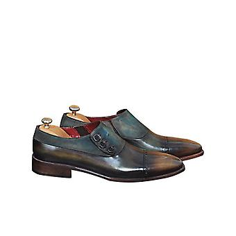 Handcrafted Premium Leather Valter Monk Shoe