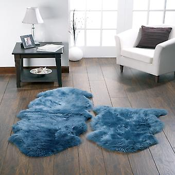 Rugs - Sheepskin - Teal