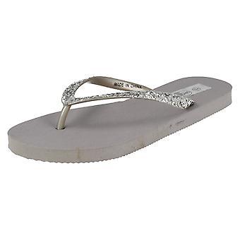 Damer plats på Toe Post sandaler