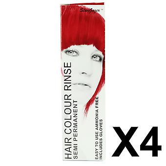 Stargazer Semi-Permanent Conditioning Hair Colour Foxy Red 70ml