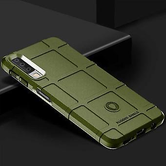Für Samsung Galaxy A9 A920F 2018 Shield Series Outdoor Grün Tasche Hülle Cover Schutz Neu