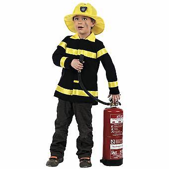 Feuerwehrmann Kinderkostüm Feuerwehr Brandlöscher Kostüm Kinder