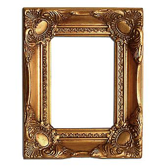 12 x 16 cm or 5 x 7 inch photo frame in gold