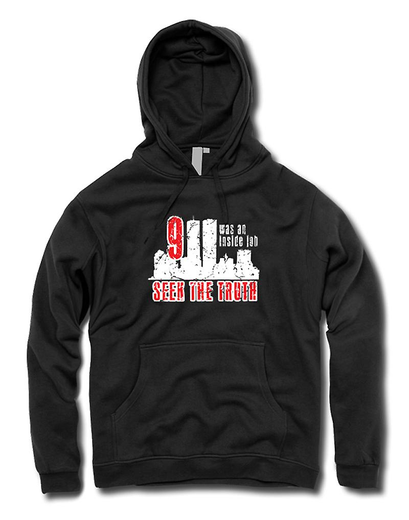 Kids Hoodie - 911 Inside Job - Truth Conspiracy