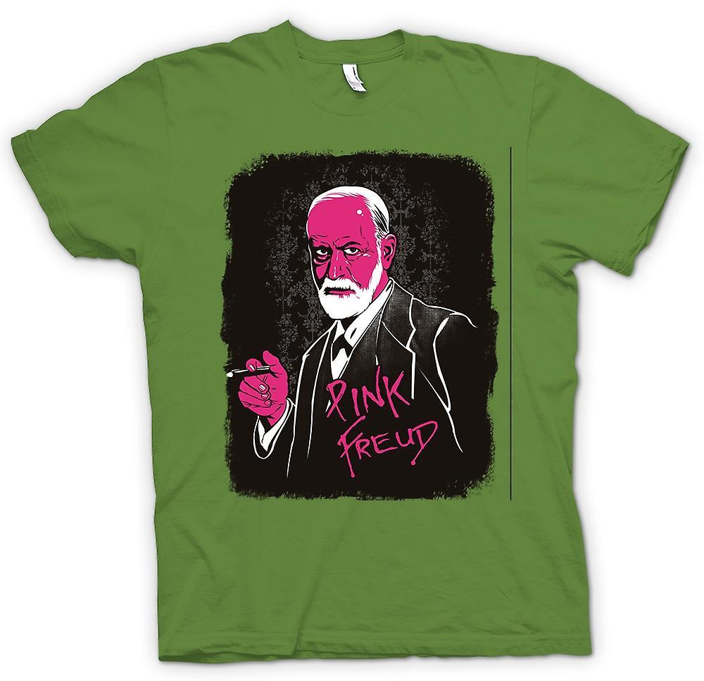 T-shirt des hommes - Pink Floyd - Sigmund Freud - Drôle