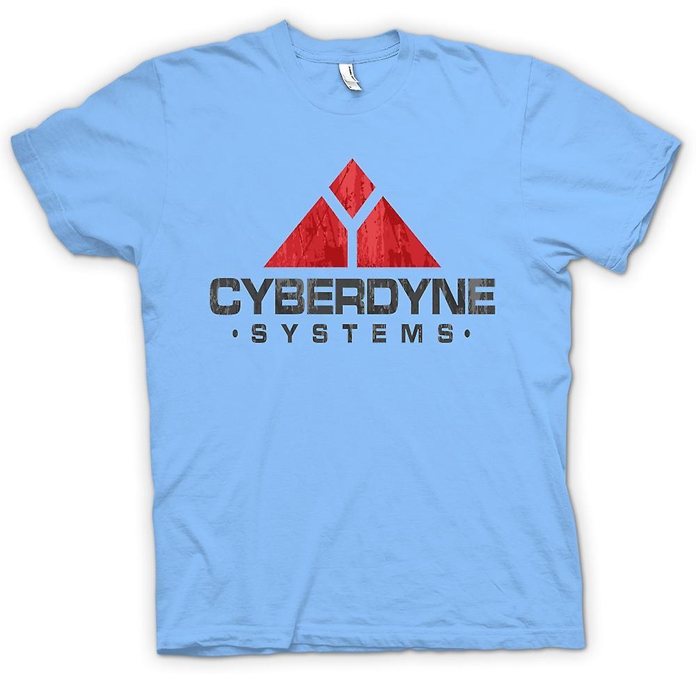 Man T-tröja - Cyberdyne Systems - Terminator