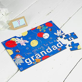 I'm Going To Be A Grandad Jigsaw