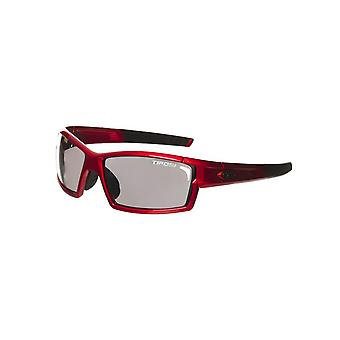 Tifosi Metallic Red Camrock Interchangeable Cycling Glasses