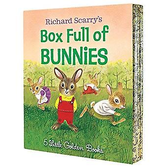 Richard Scarry's Box Full of Bunnies (Little Golden Book)