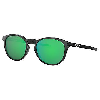 Oakley OO9439 03 Black Ink Pitchman R Round Sunglasses Lens Category 3 Lens Mirrored Size 50mm
