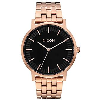 Nixon Mens Quartz analog watch with stainless steel band A1057-1932-00