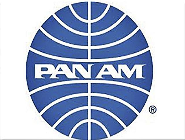 Pan Am logo fridge magnet (rr)