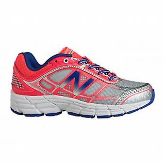 860 V4 Kids Running Shoes Pink/Silver