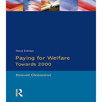 Betale for velfærd over 2000 af Glennerster & Howard