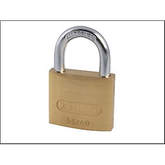 55/40 40MM BRASS PADLOCK CARDED