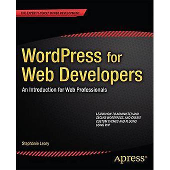 WordPress för webbutvecklare en inledning för webbutvecklare av Olsson & Stephanie