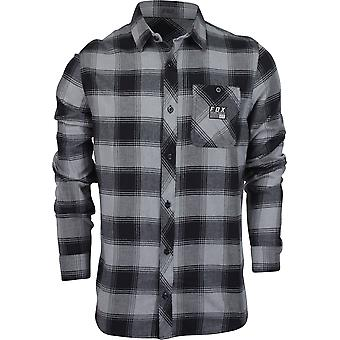 Fox Racing Mens Longview Lightweight Flannel Shirt - Heather Graphite