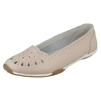 Ladies Down To Earth Flat Ballerinas F80444