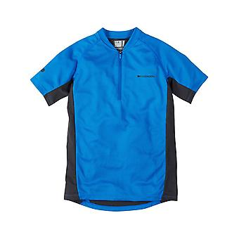 Madison Blu Royal 2015 Trail Kids MTB Jersey manica corta