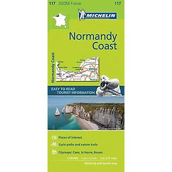 Normandy Coast Zoom Map 117 - 9782067217850 Book