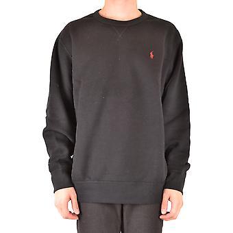 Ralph Lauren Black Cotton Sweater