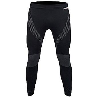 ARMR Moto Black Knitted Compression Baselayer Pants