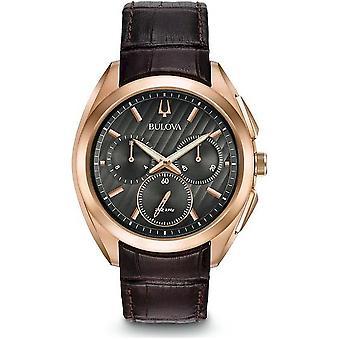 Bulova-Curv 97A124 Men's Curv Chronograph Wristwatch