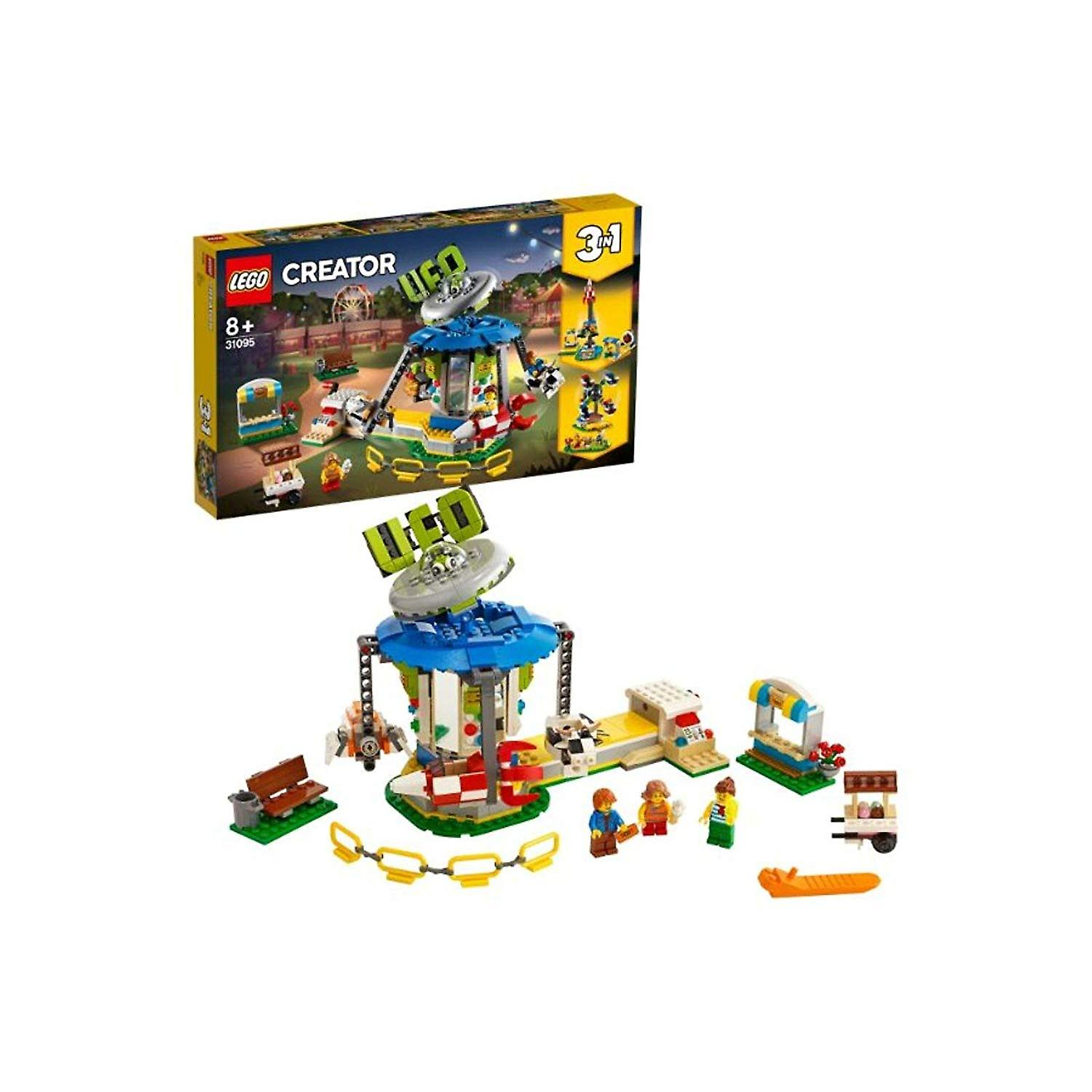 voiturerousel LEGO 31095 Creator 3in1 Fairground
