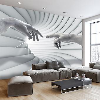 Behang-aanraking van het licht