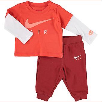 Nike Air Infant Tracksuit T-Shirt Trousers Set