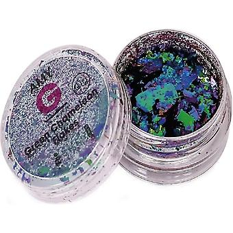 The Edge Nails Amy G - Chameleon Nail Art Flakes - Green 0.1g (3003018)