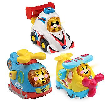 VTech Toot Toot Drivers 3 Car Pack Speedy Vehicles