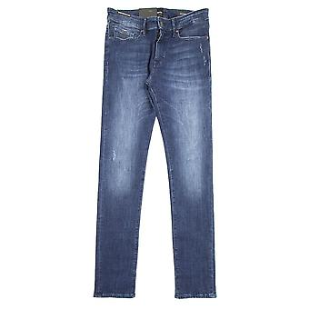 Hugo Boss Charleston Bc Bike Super Stretch Denim Jeans Denim
