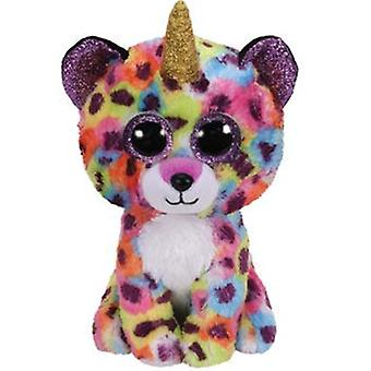 TY Boo Buddy Giselle the Leopard With Horn 23 cm