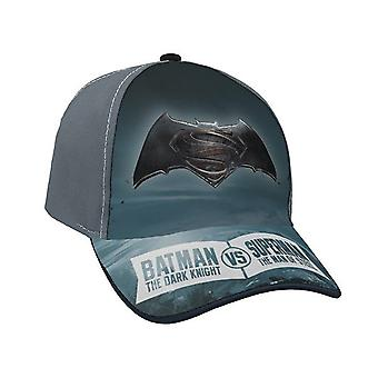 Batman Vs Superman Cap Grey