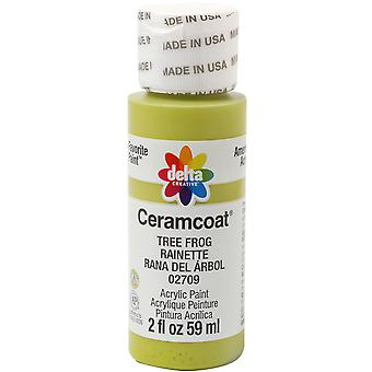 Ceramcoat Acrylic Paint 2Oz Tree Frog 2000 02709
