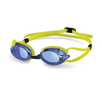 Head Venom Race Swimming Goggle - Blue Lenses - Lime