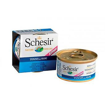 Schesir Tuna With Aloe For Cats in Gelatin (Cats , Cat Food , Wet Food)