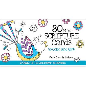 Coloriage Ecriture Mini Cafe Coloriage cartes 30/Pkg-CQ2603