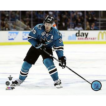Logan Couture 2016 Stanley Cup Playoffs Action Photo Print